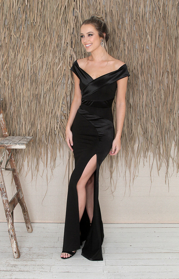 Aviana Gown - Black