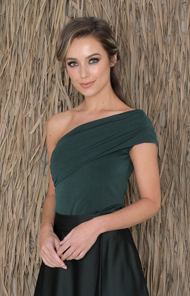 Palma Top - Forest Green