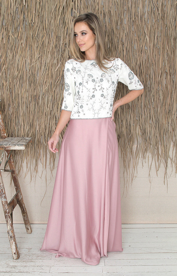 Sarena Skirt - Blush