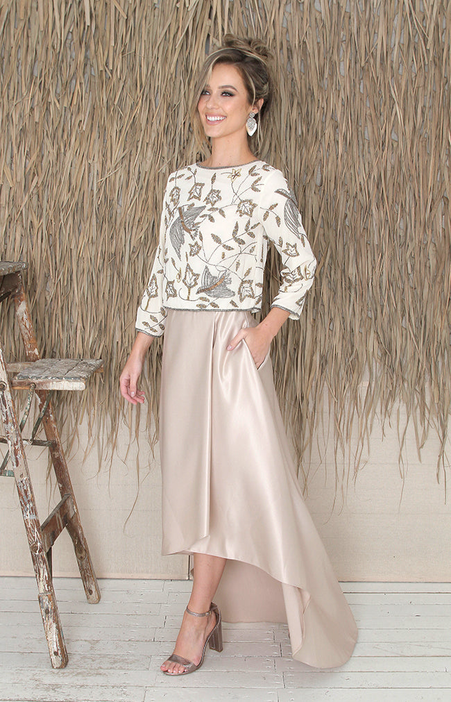 Lena Skirt - Gold