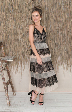Raquel Dress - Black