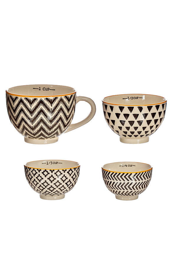 Geometric Measuring Bowls