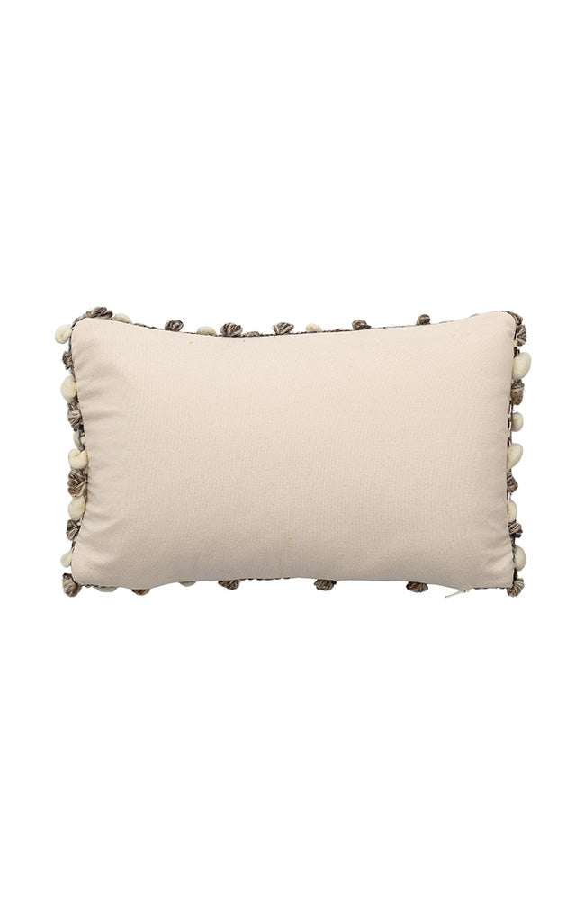 Textured Wool Cushion - Natural
