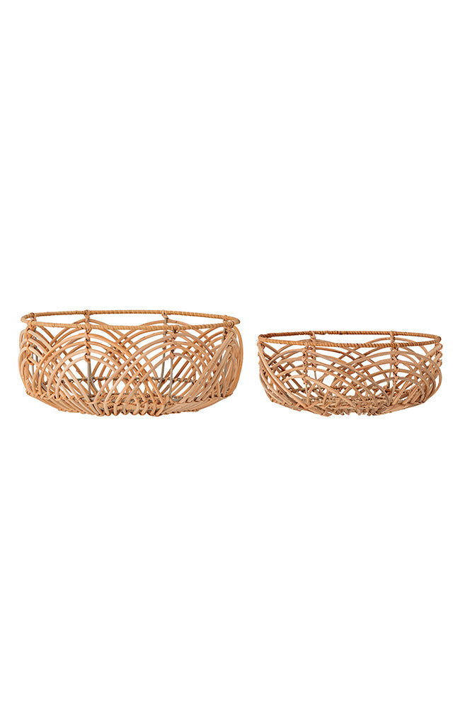 Rattan Bread Basket - Nature