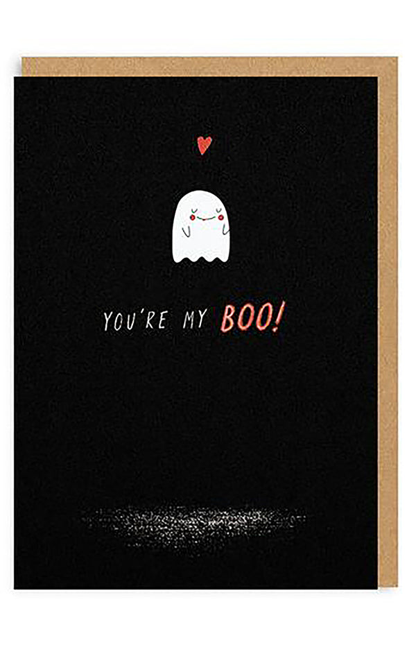 My Boo Enamel Pin Greeting Card