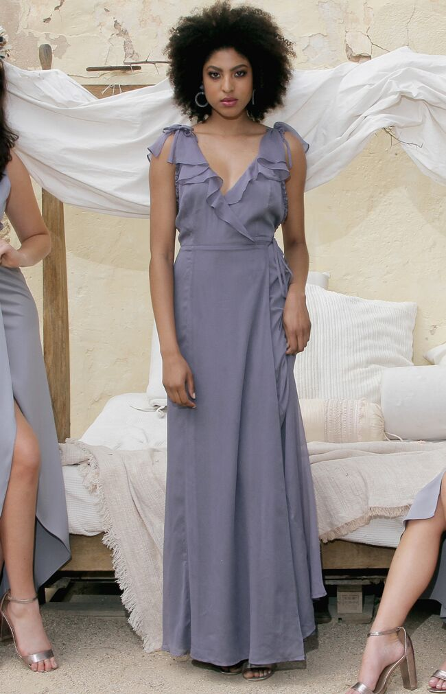 Winnie Gown - Dusty Blue