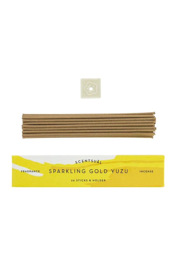 Scentsual Incense - Sparkling Gold Yuzu