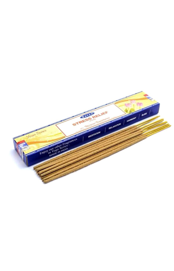 Yoga Series - Stress Relief Incense Sticks - Satya