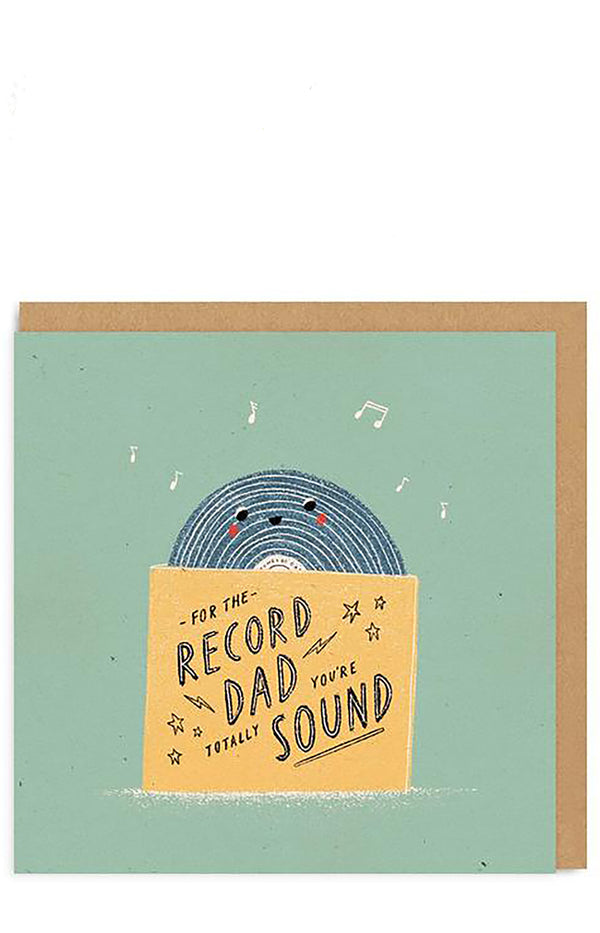 For The Record Dad Greeting Card