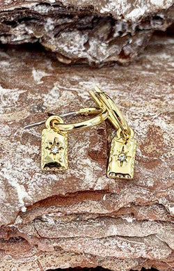 Tia Earrings - Gold Plated