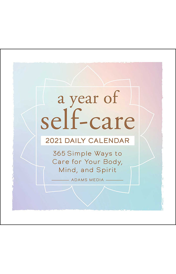 A Year of Self Care 2021 Daily Calendar