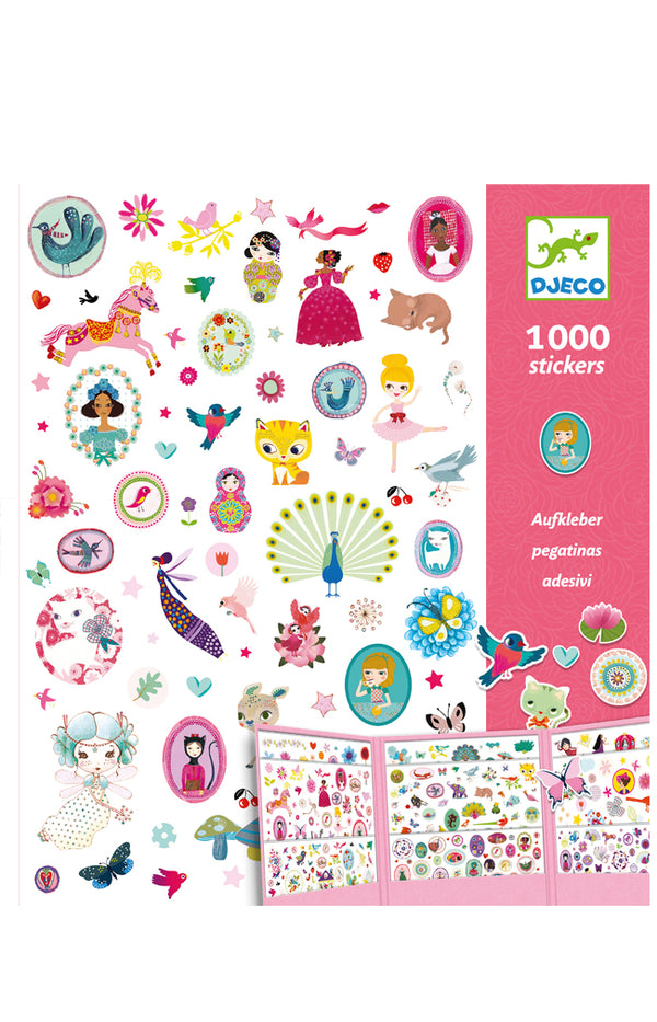 Stickers - 1000 stickers sweet