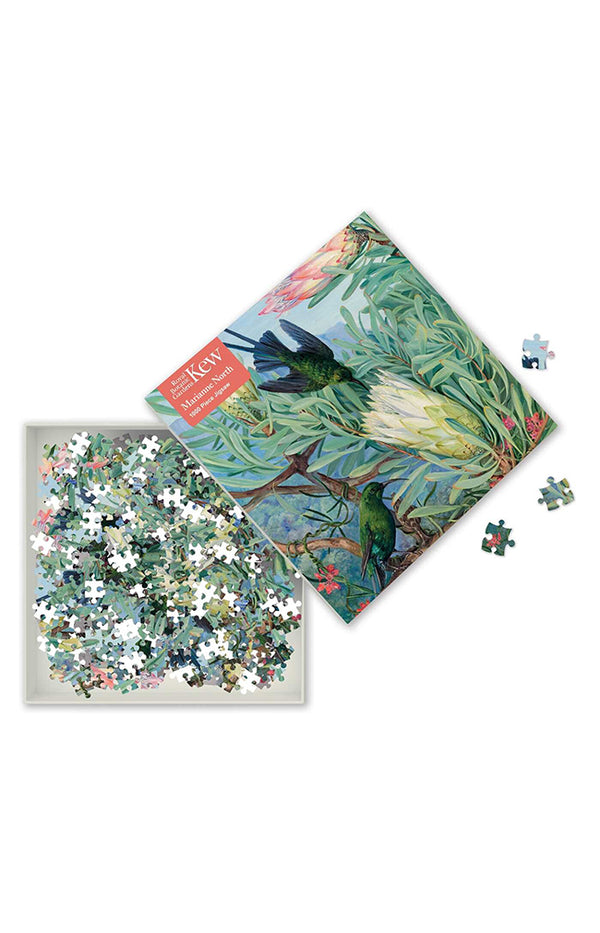 Adult Jigsaw Puzzle - Honeyflowers and Honeysuckers