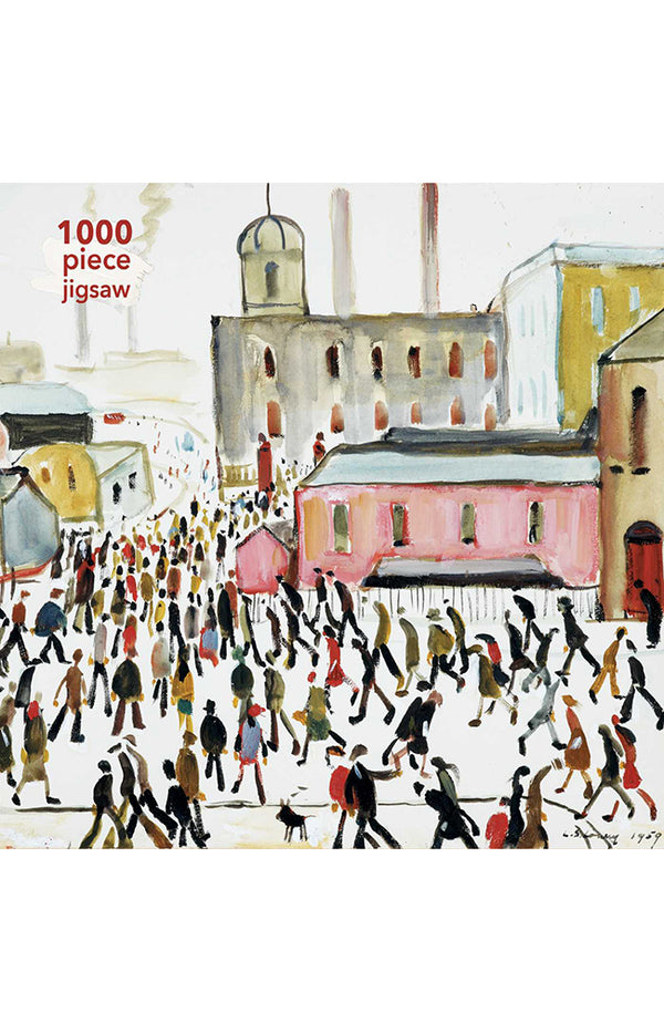 LS Lowry: Going to Work - 1000pc Jigsaw
