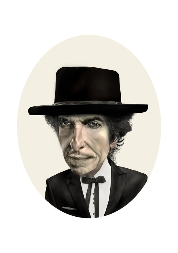 SOLD OUT Bob Dylan A4 Print