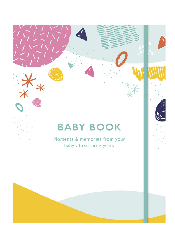Baby Book: Baby's first 3 years : HARDCOVER
