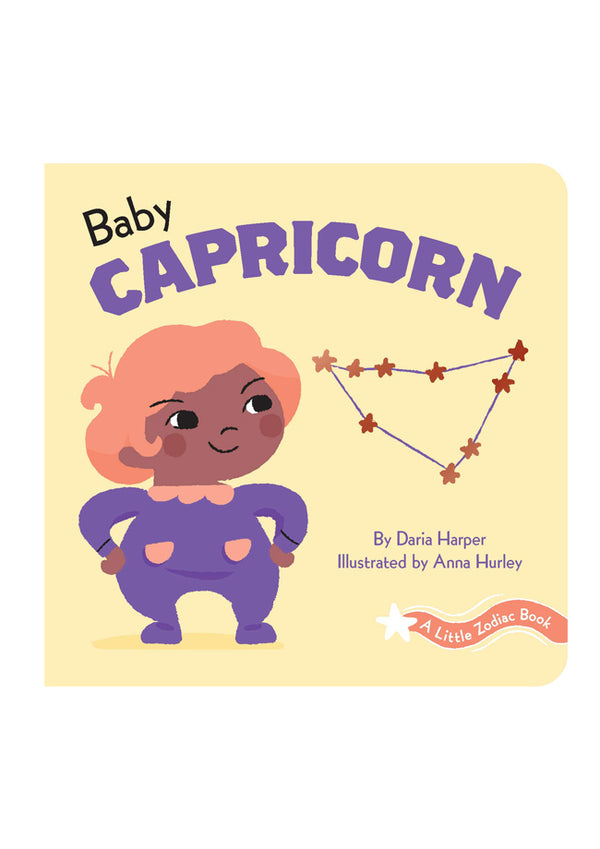 A Little Zodiac Book: Baby Capricorn