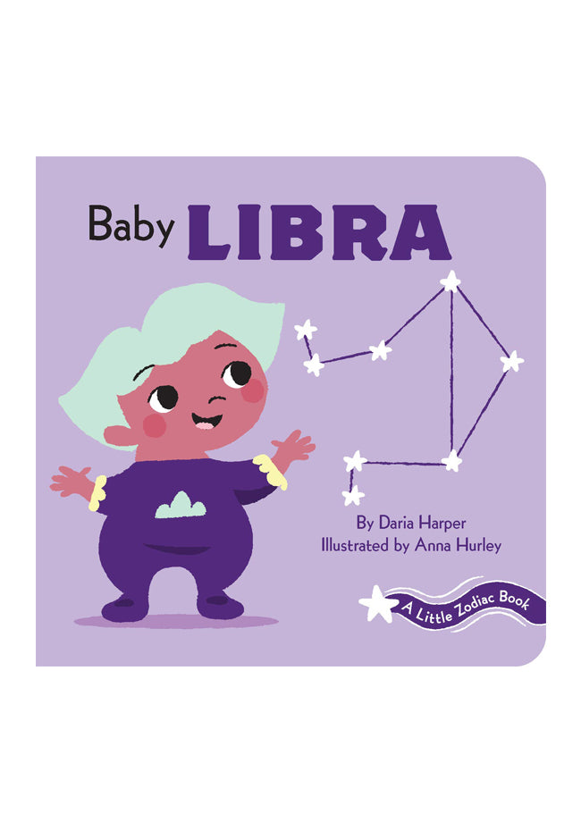 A Little Zodiac Book: Baby Libra
