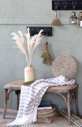 French Wicker Bench