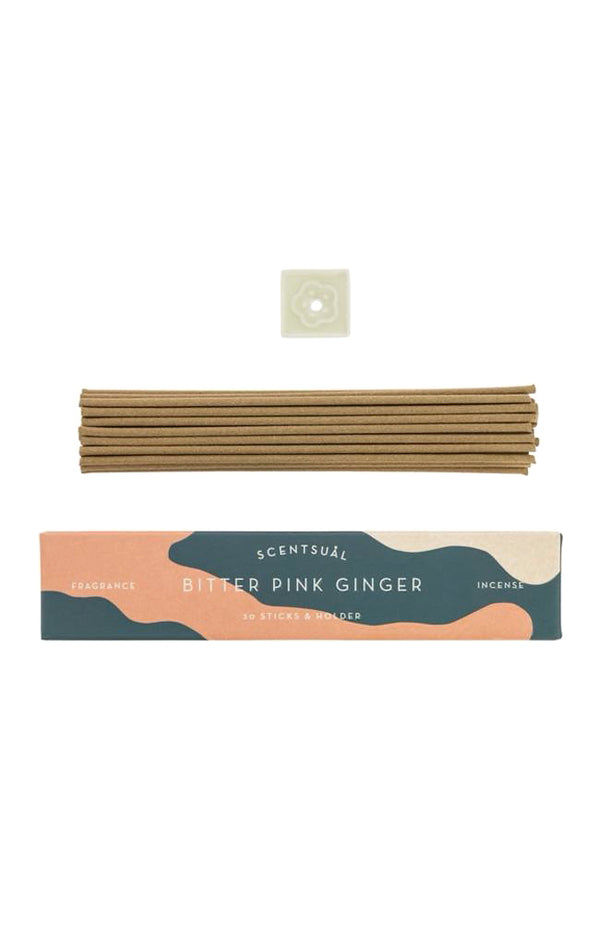 Scentsual Incense - Bitter Pink Ginger