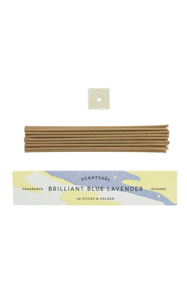 Scentsual Incense - Brilliant Blue Lavender