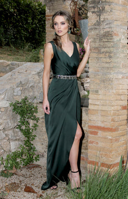 b1fd67564 Fabia Gown - Forest Green – Folkster