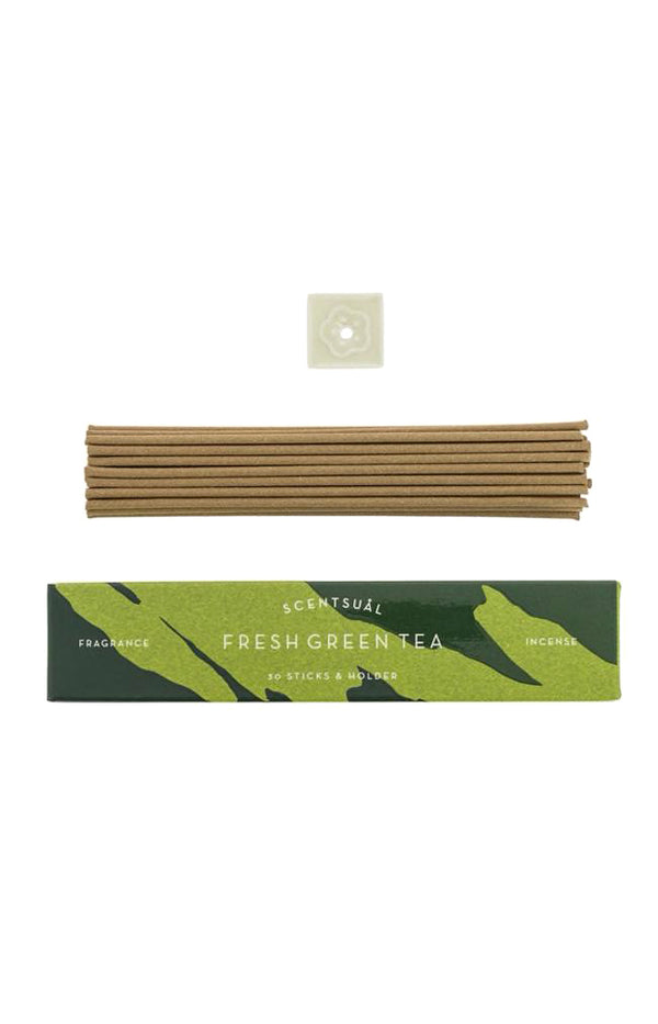 Scentsual Incense - Fresh Matcha