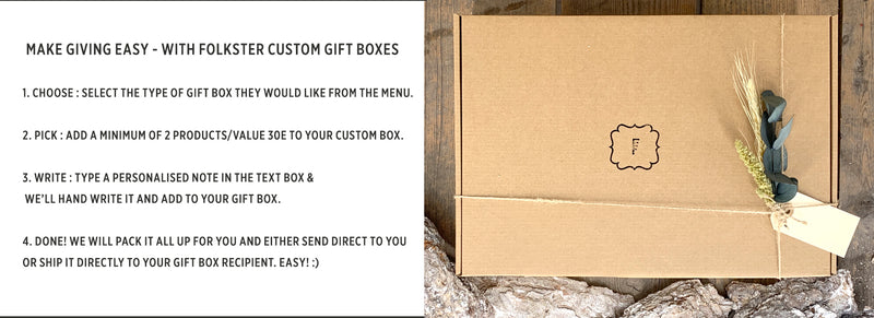 Build a Folkster Gift Box!