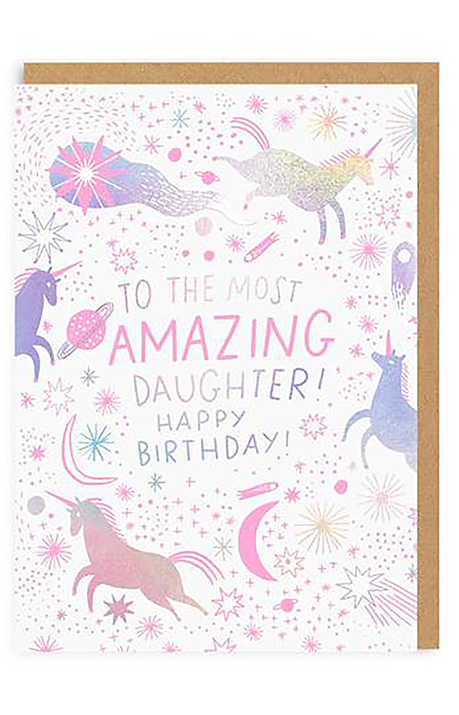 Most Amazing Daughter Greeting Card