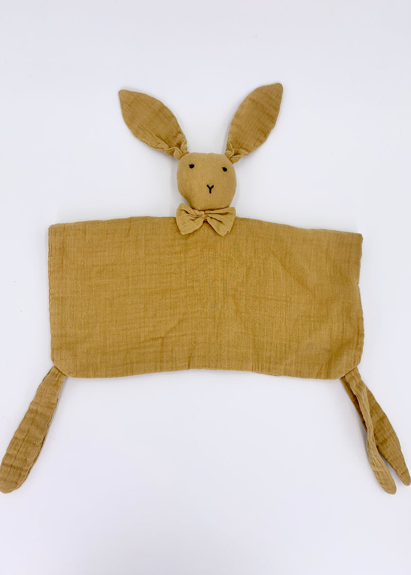 100% Cotton Rabbit Snuggly - Mustard