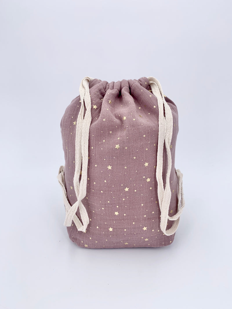 100% cotton child bag - Hibiscus