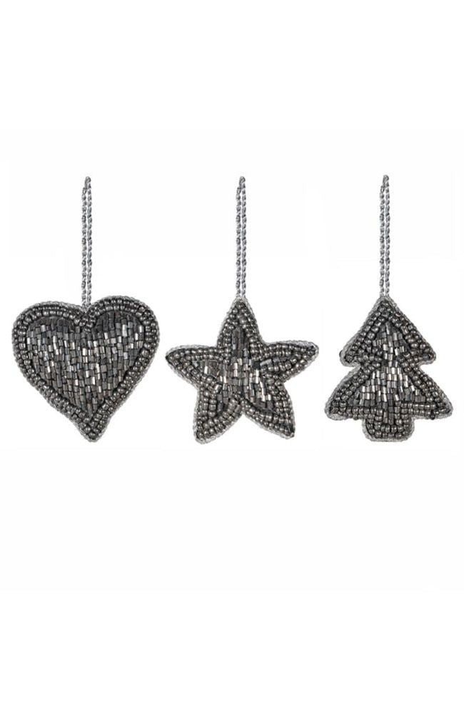 Hanging Beaded Deco - Star