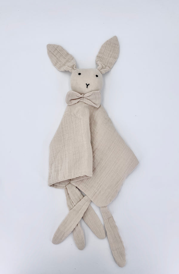 100% Cotton Rabbit Snuggly - Beige