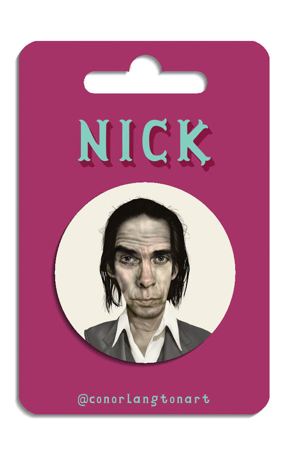 Nick Cave Badges