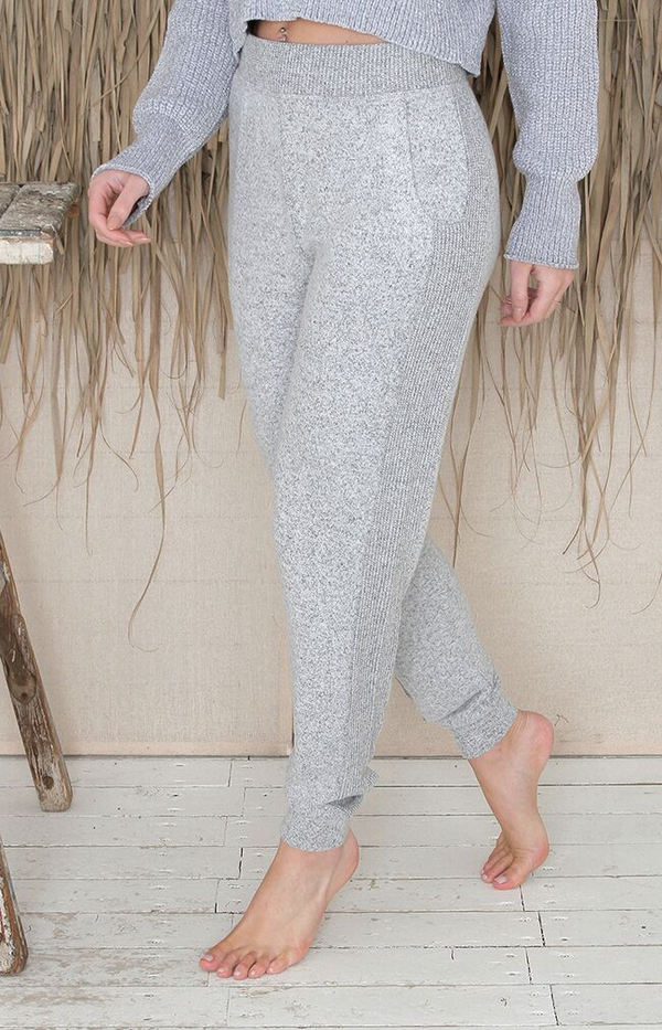 Finley Pants - Heather Grey