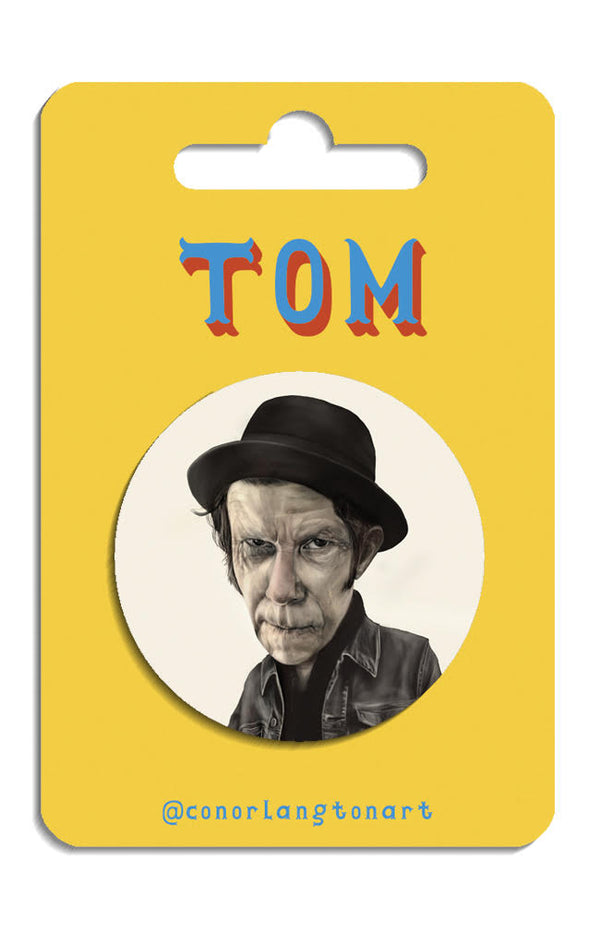 Tom Waits Badges