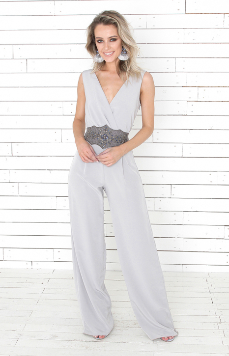 Beatrice Jumpsuit - Grey