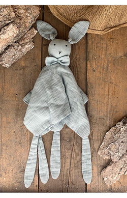 100% cotton Rabbit Snuggly - Mint Green