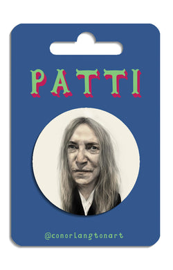 Patti Smith Badges