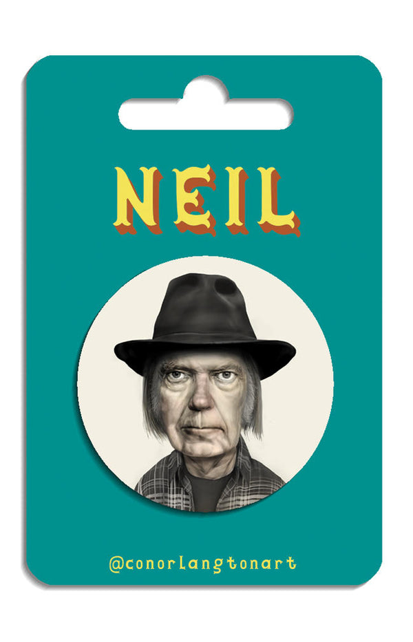Neil Young Badges