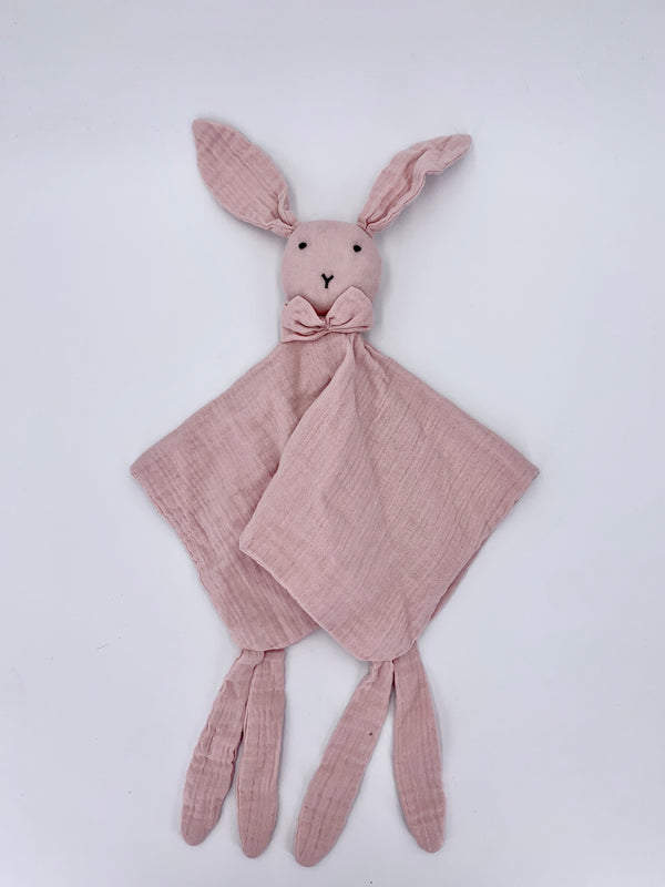 100% Cotton Rabbit Snuggly - Powder Pink