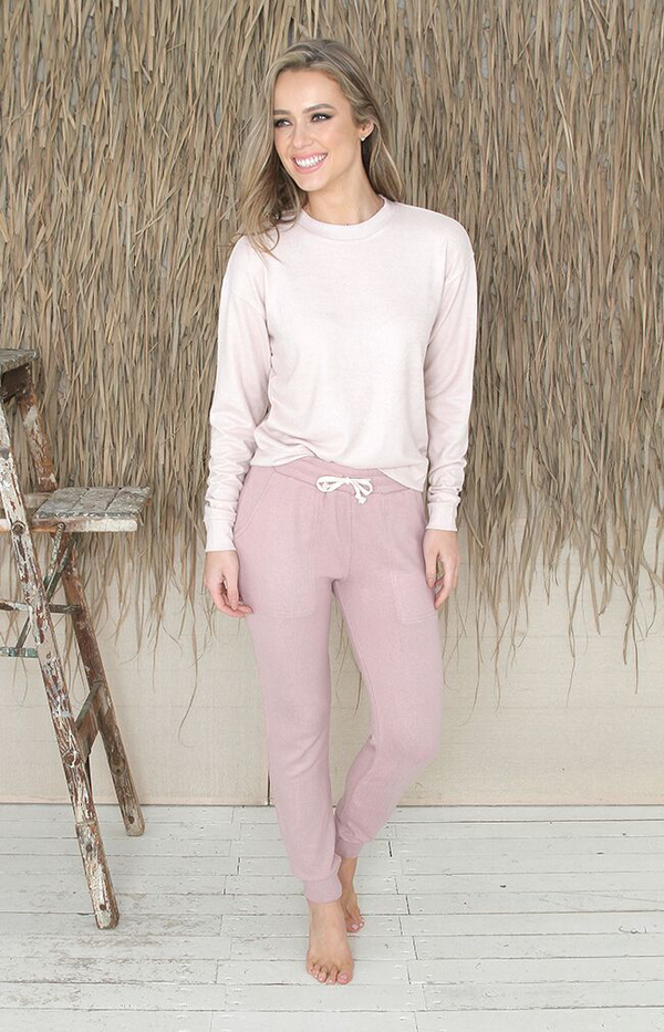 Mackenzie Pants - Dusty Pink