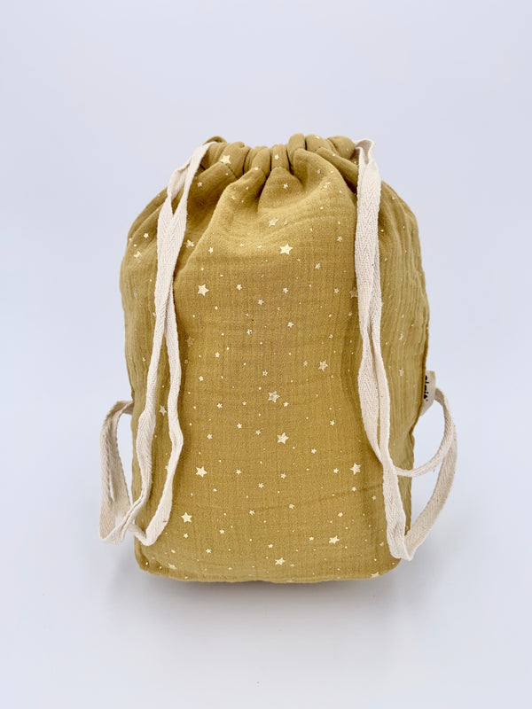 100% cotton Baby Bag - Mustard