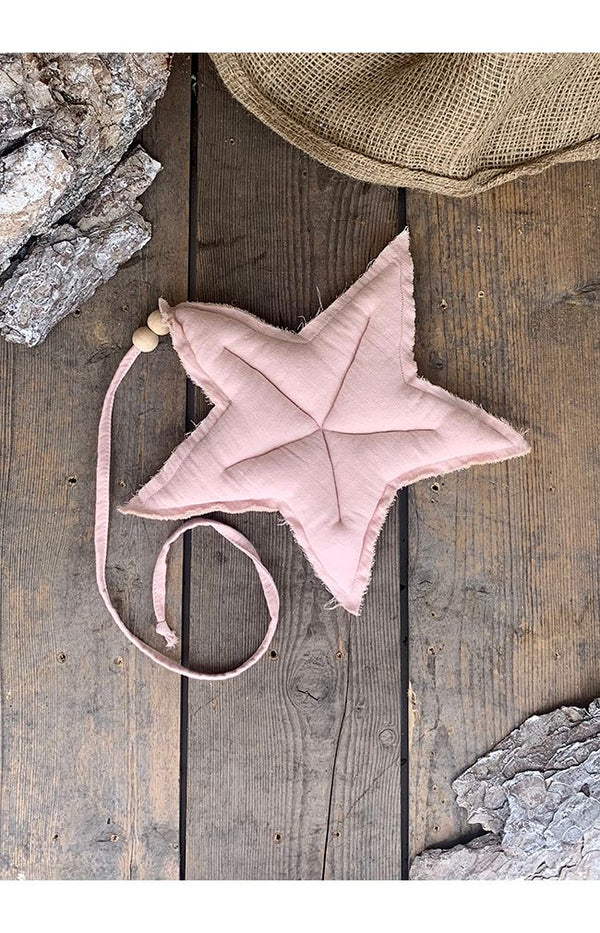 M Cotton Hanging Star - Light Pink