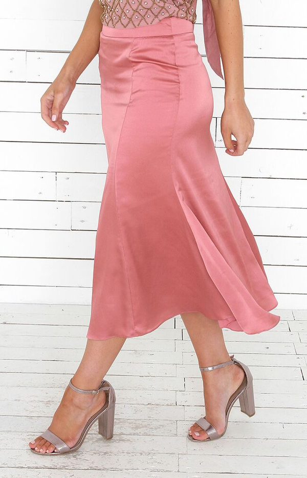 Marita Skirt - Rose