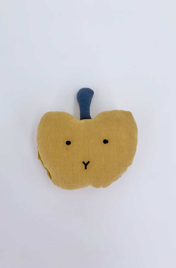 Cotton Apple Toy - Mustard