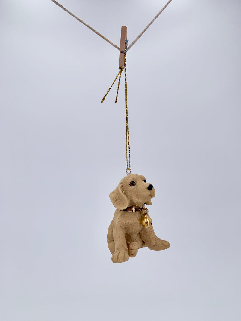 Golden Retriever Puppy Ornament
