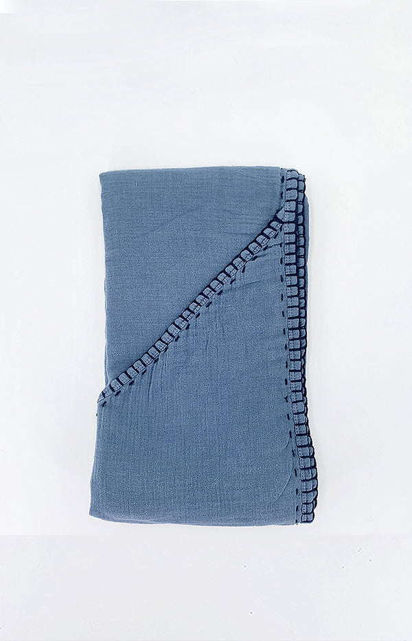 Triangular Towel - Space Blue