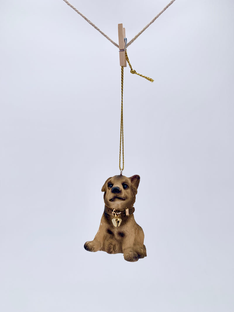 German Shephard Puppy Ornament