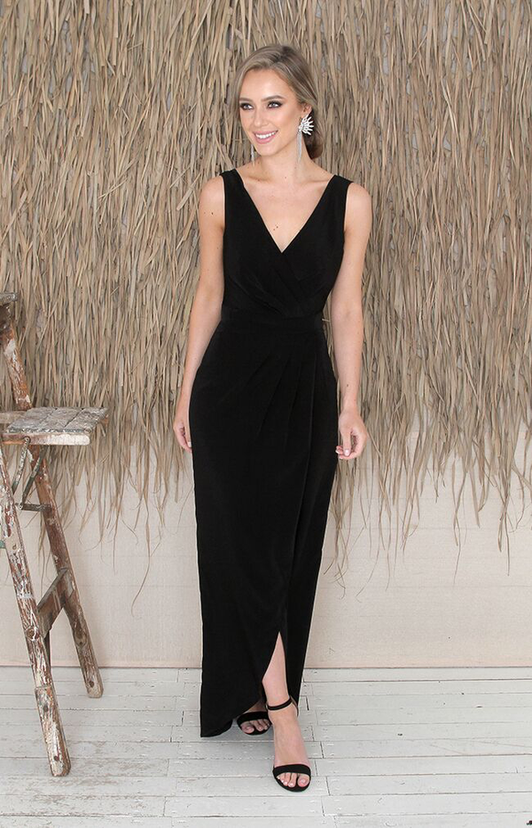 Fabia Gown - Black